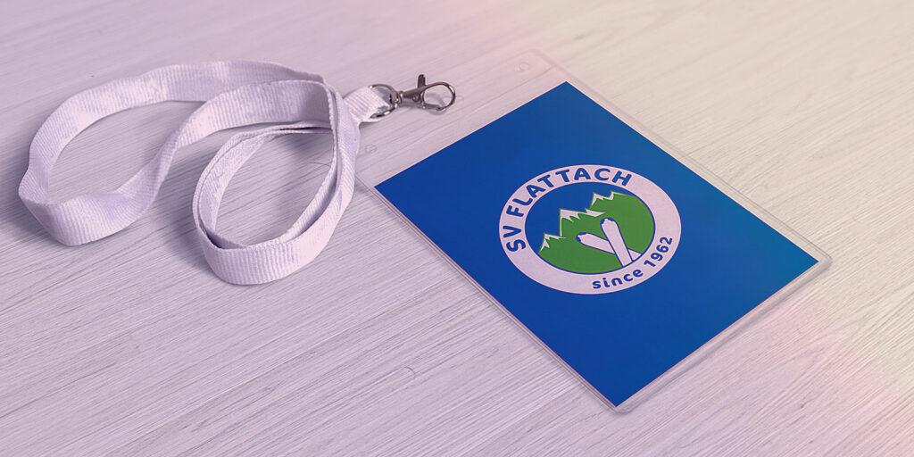 Lanyard mit SV Flattach Logo