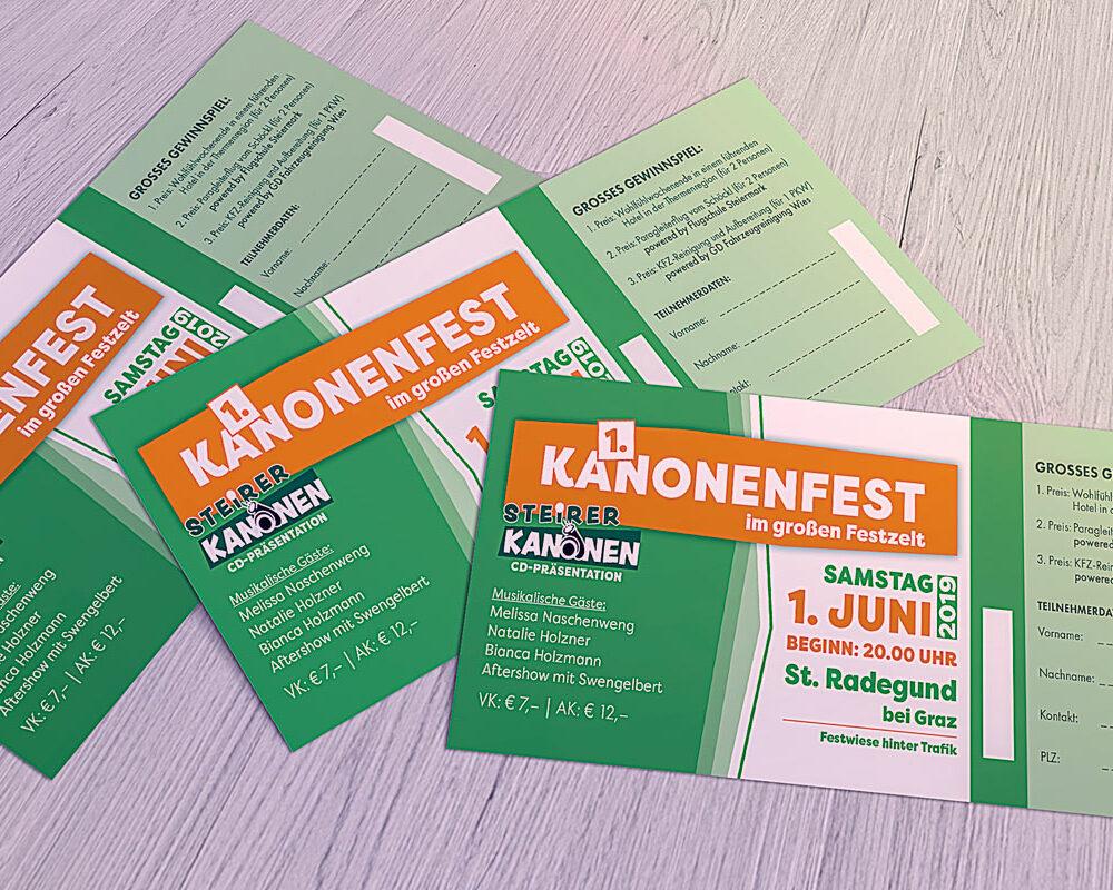 Kanonenfest Eintrittskarten