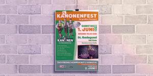 Kanonenfest Plakate