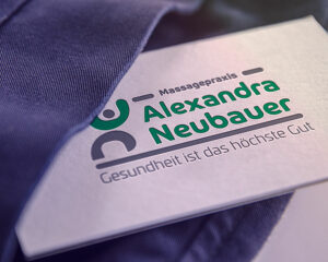 Mockup Logodesign Alexandra Neubauer
