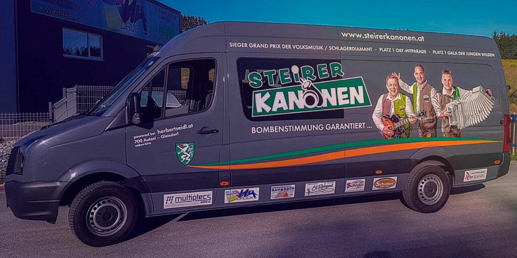 Tourbus der Steirerkanonen