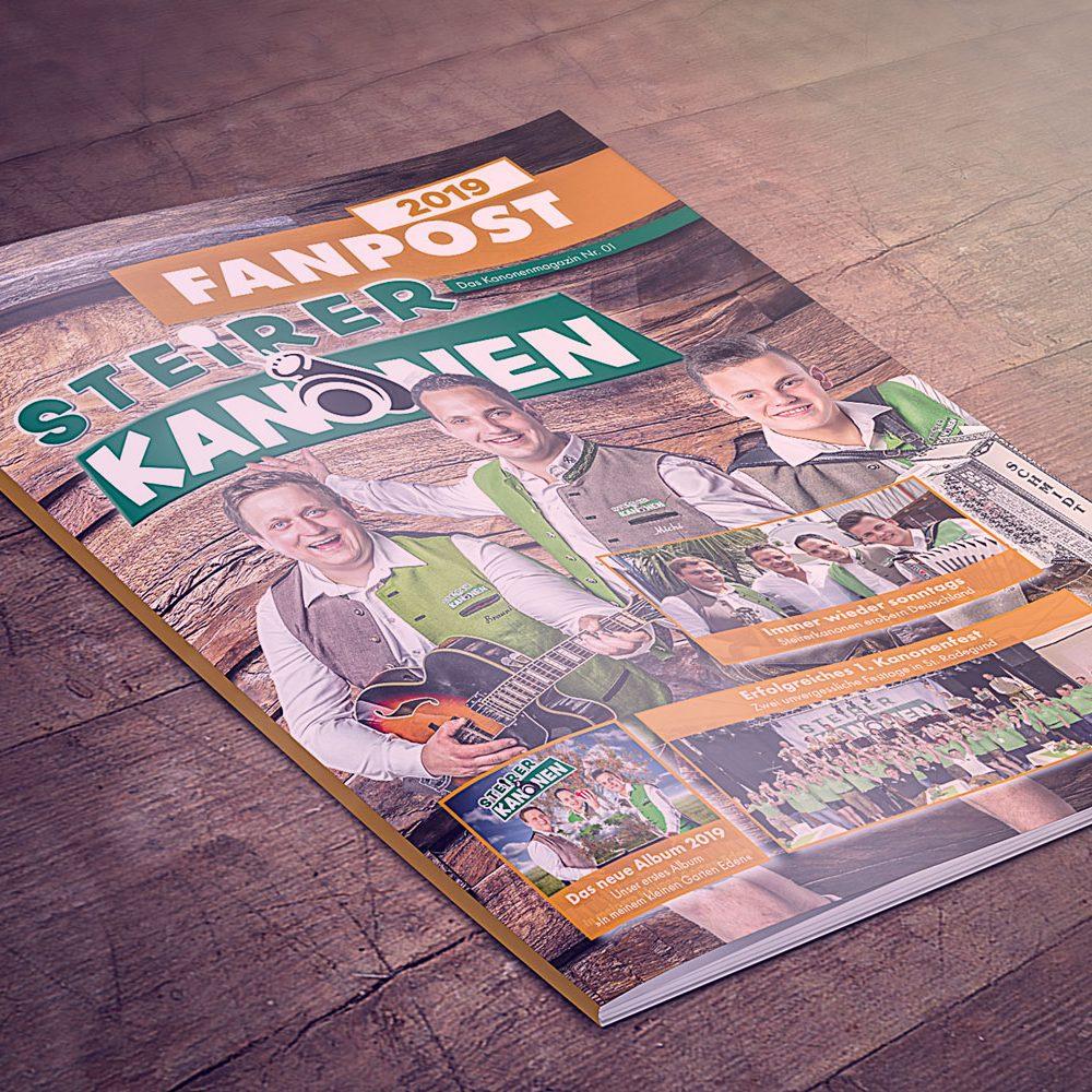 Vorderseite Fanzeitung 2019 Steirerkanonen