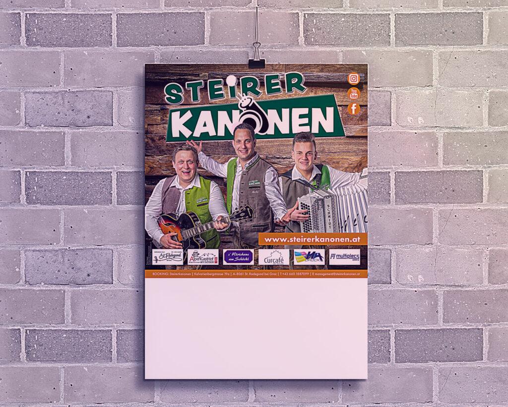Plakat 2019 der Steirerkanonen