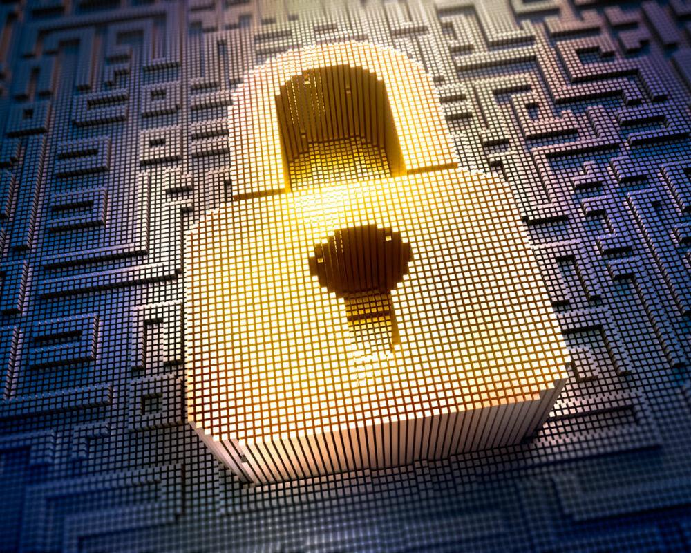 Websicherheit – Goldenes Schloss für Datenbits