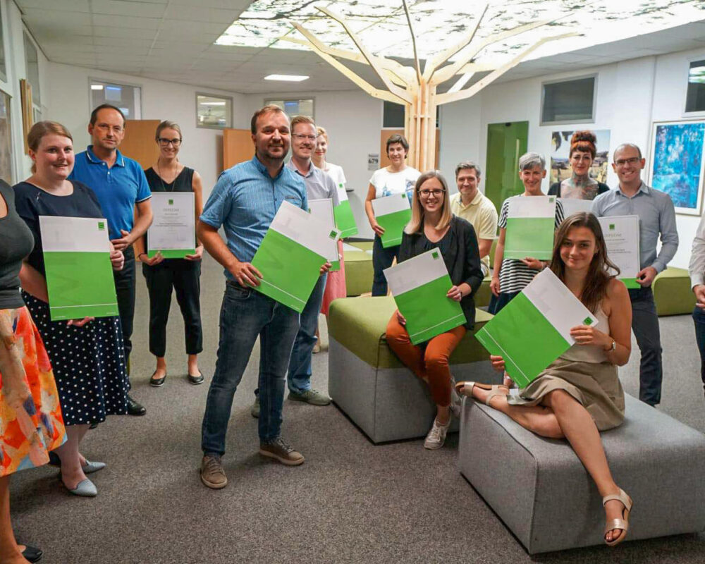Gruppenfoto Teilnehmer Powertrainer-Bootcamp Wifi